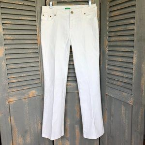 Lilly Pulitzer Palm Beach Embellished Flare Jeans